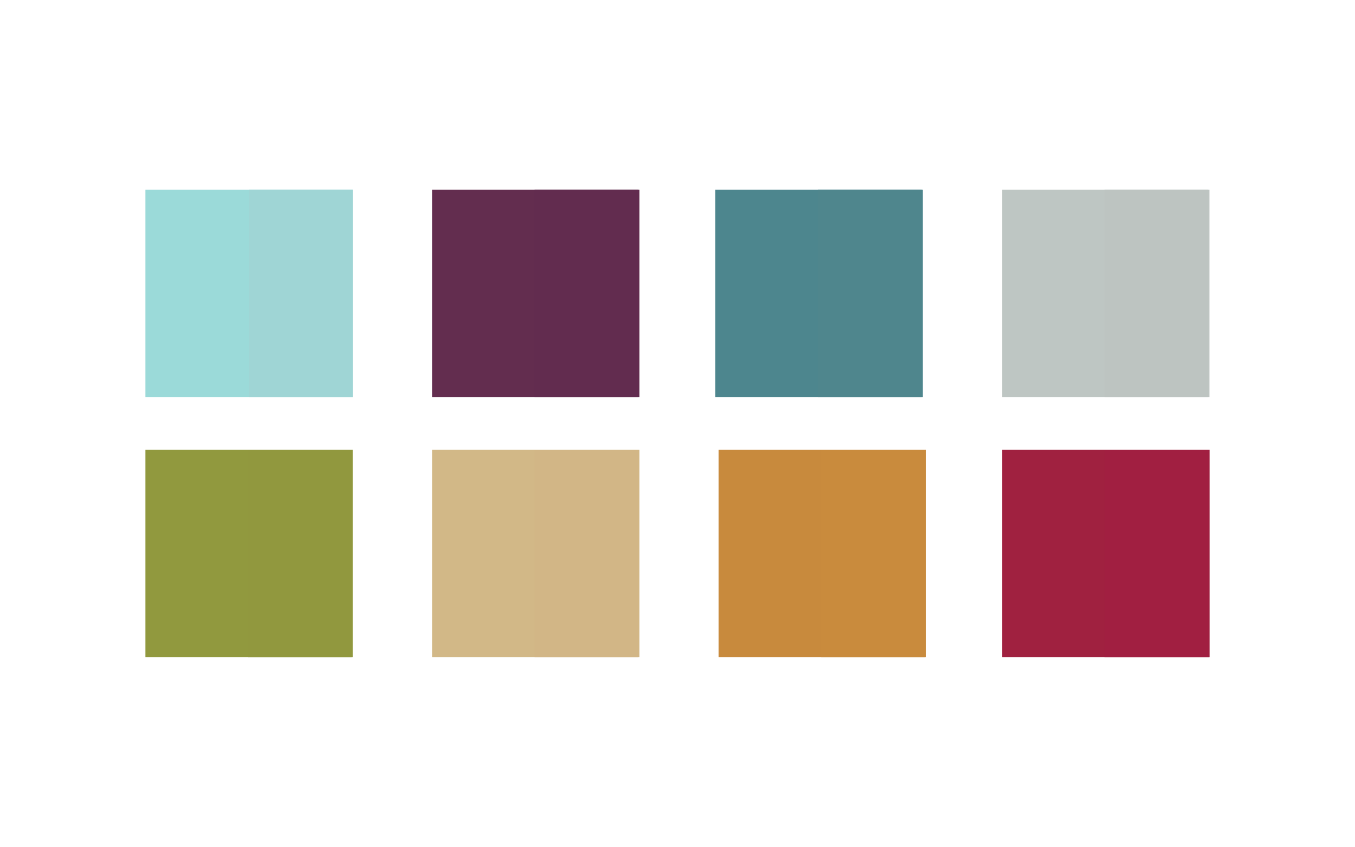 Glasslåven farger