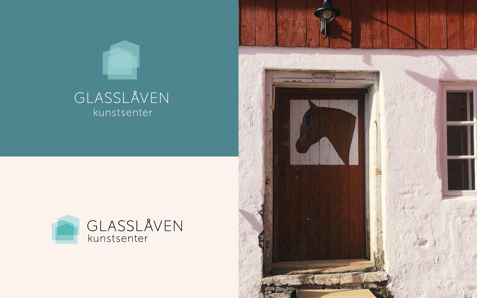 Glasslåven visuell identitet