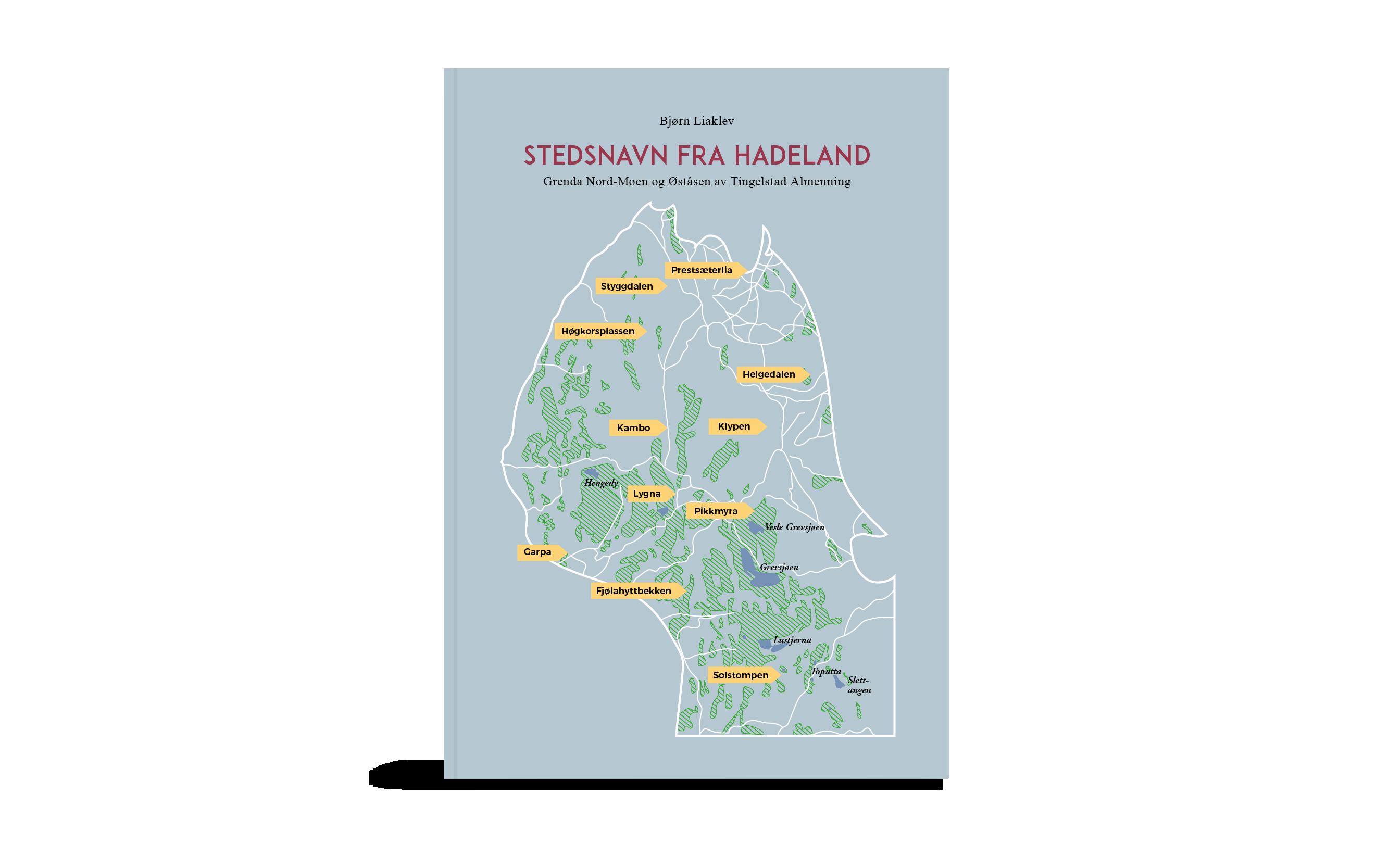 Stedsnavn fra Hadeland