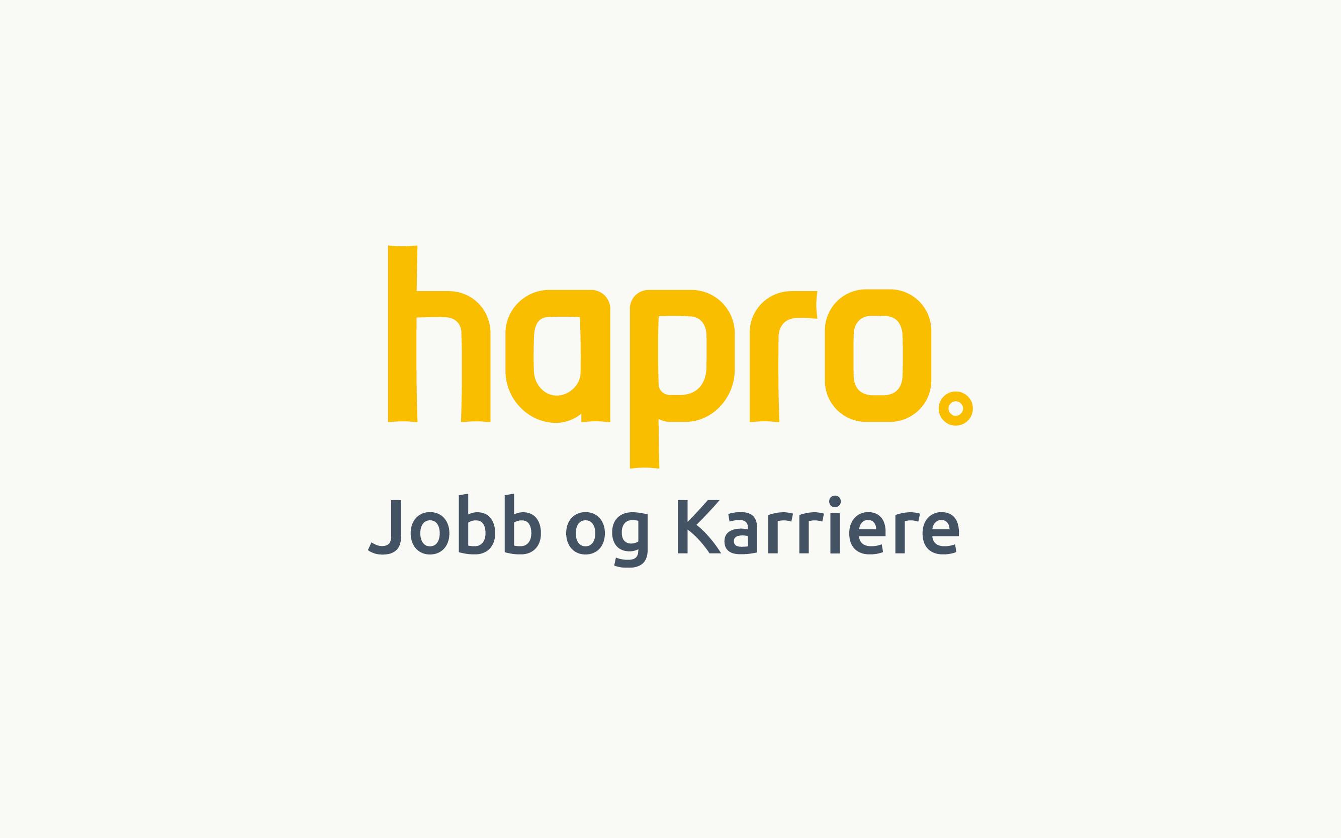 Hapro jobb og karriere logo
