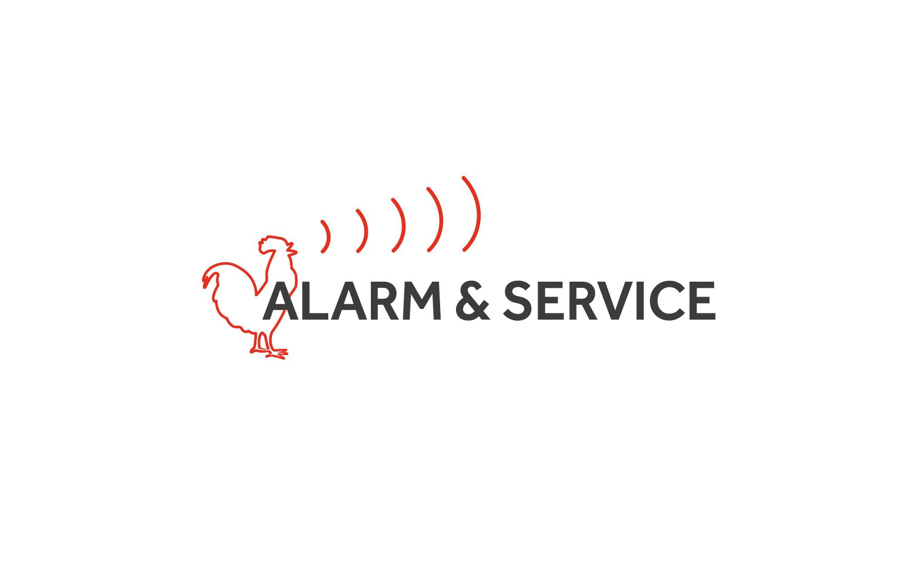Alarm og service logo