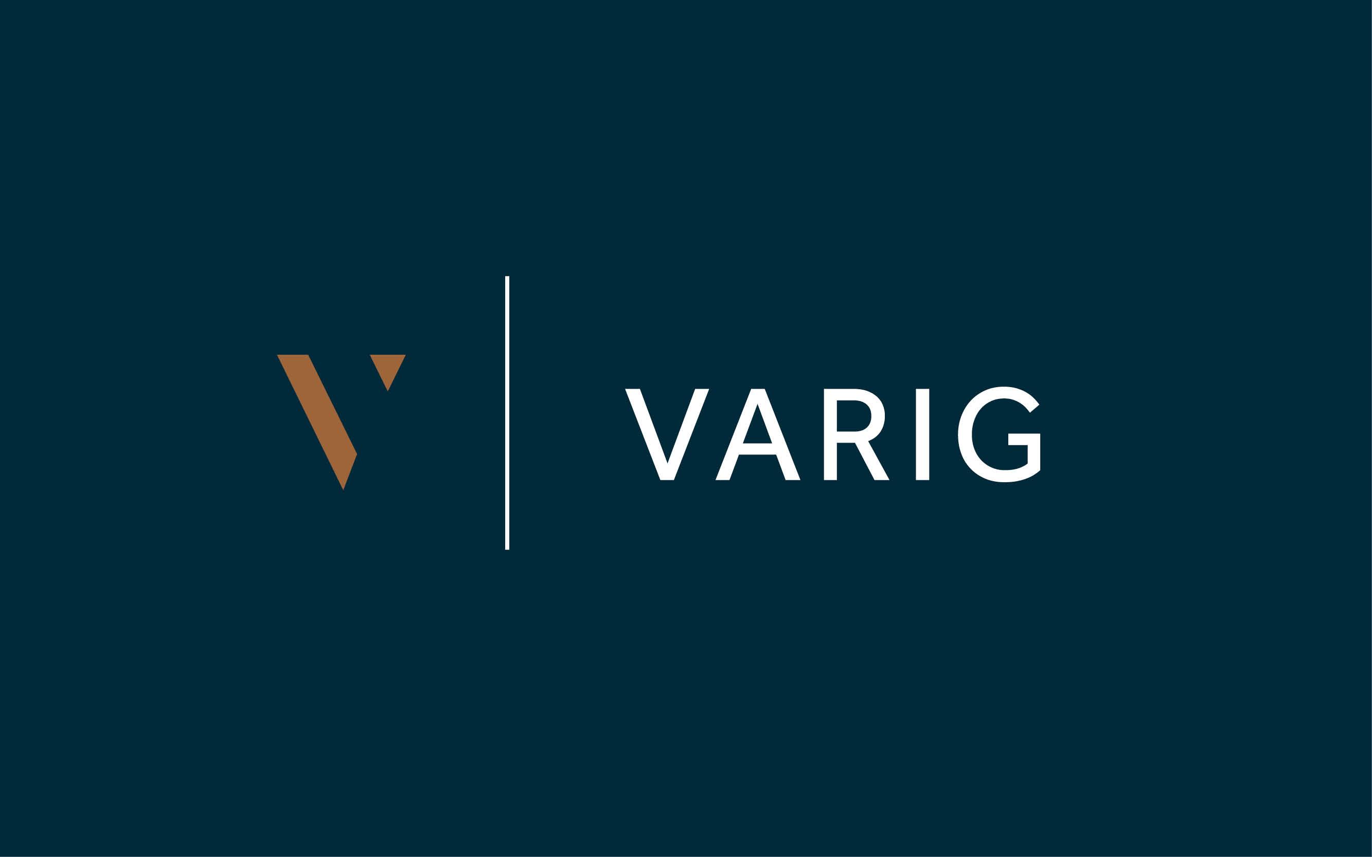 Varig vertikal logo