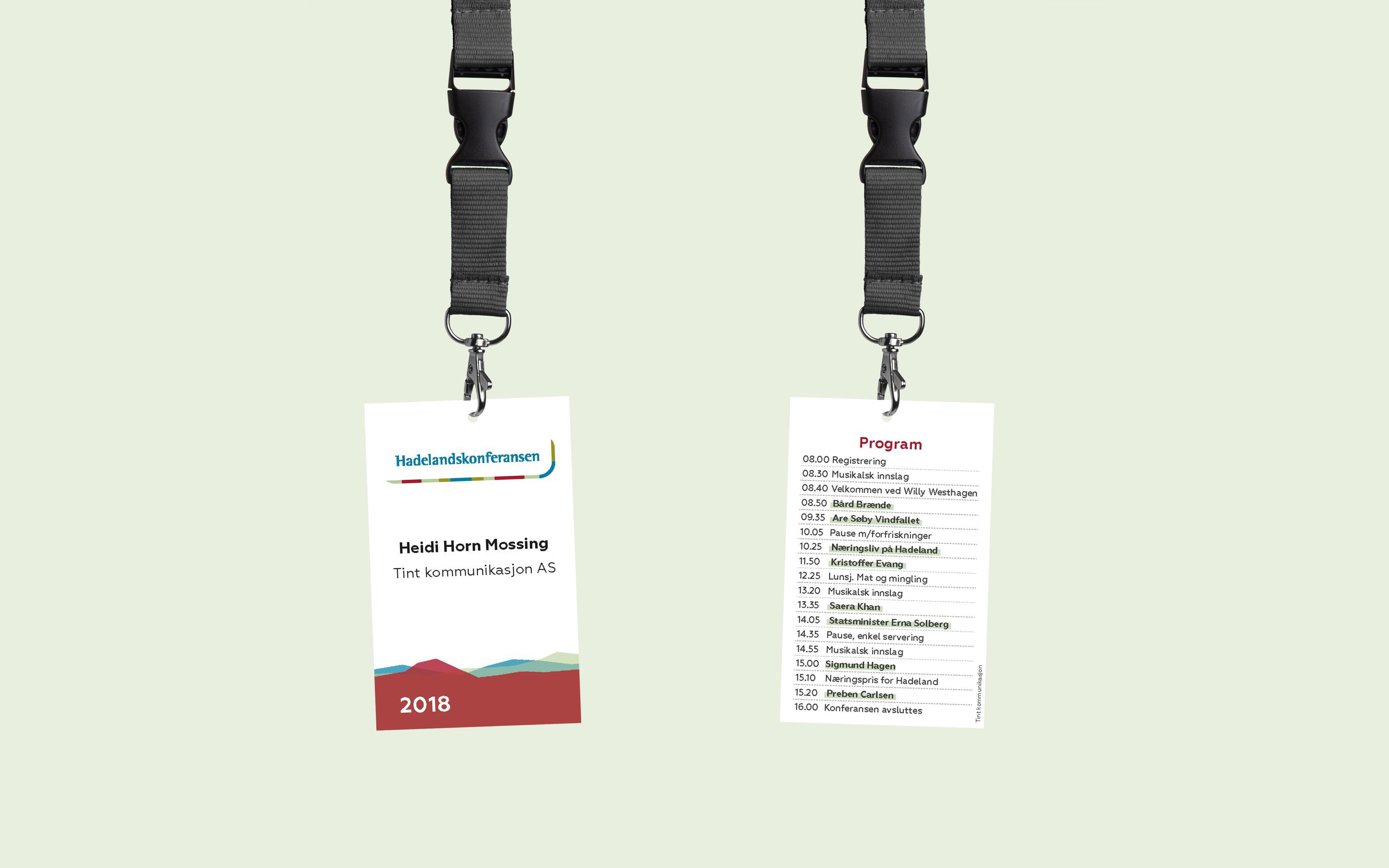 Hadelandskonferansen adgangskort